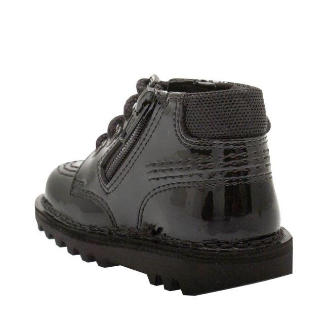 Infant Black Patent Hi Faeries Split Boots (5-12)