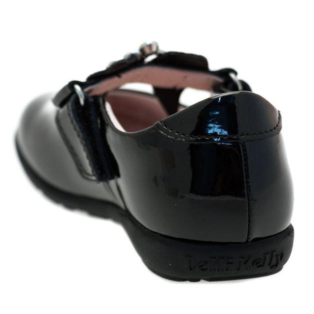 Girls Black Sophia Strap G-Fit Shoes (25-35)