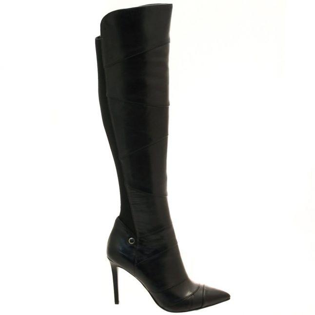 Womens Black Savino Over The Knee Boots