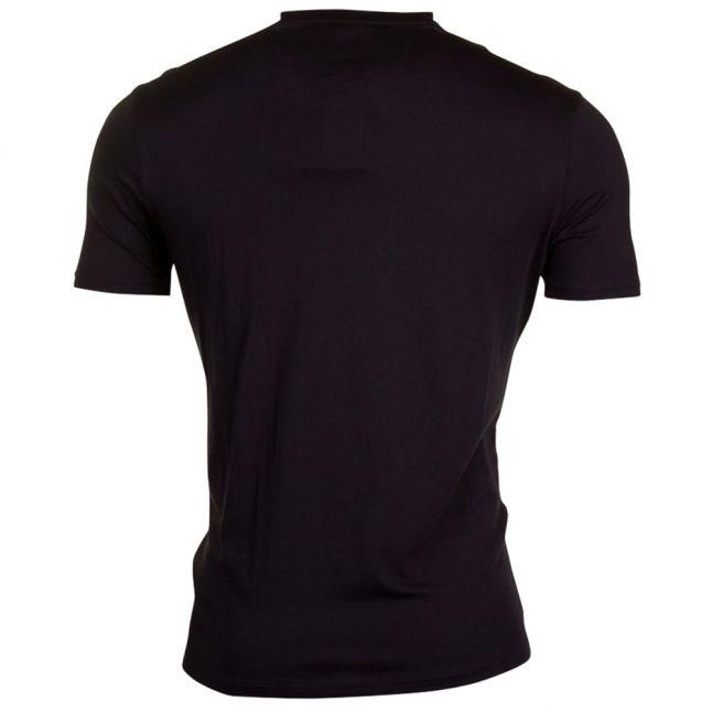 Mens Black Regular Fit S/s Tee Shirt