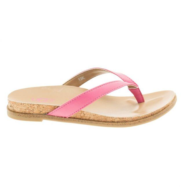 Kids Pink Azalea Myla Flip Flops (12-5)