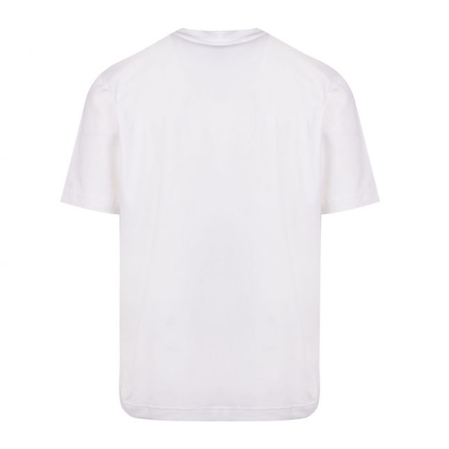 Casual Mens White Tchup Centre Logo S/s T Shirt