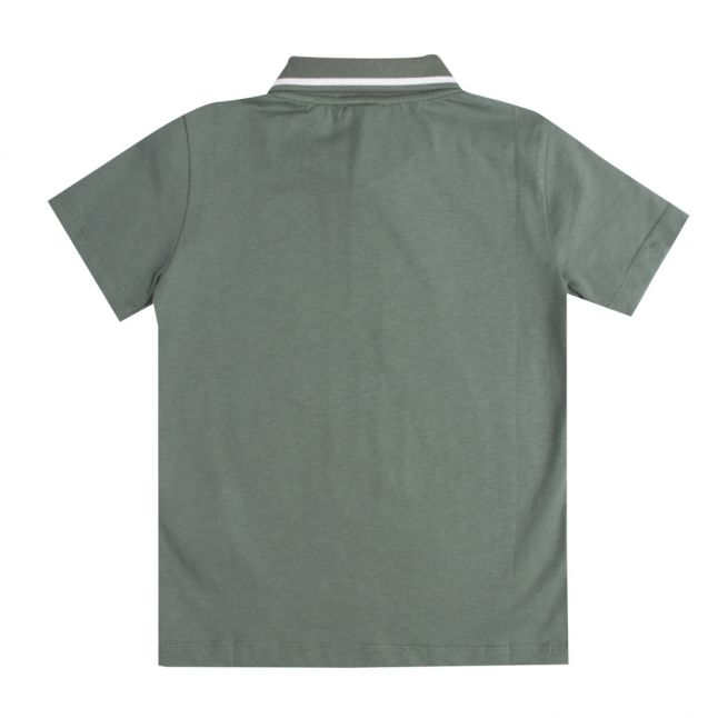 Boys Dark Forest Train Core ID S/s Polo Shirt