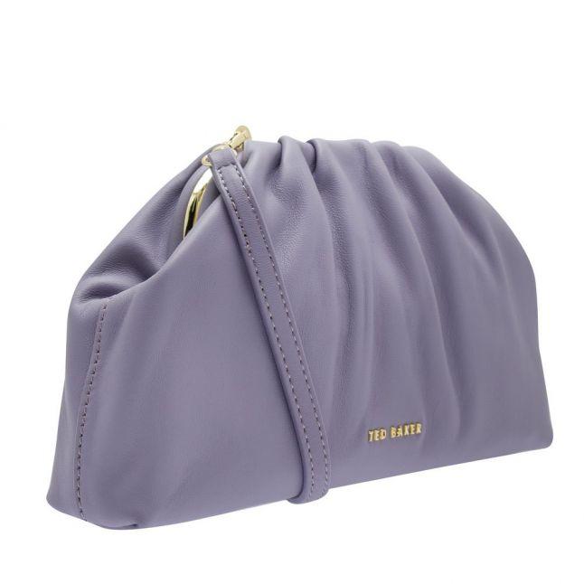 Womens Grey Dorieen Mini Slouchy Clutch