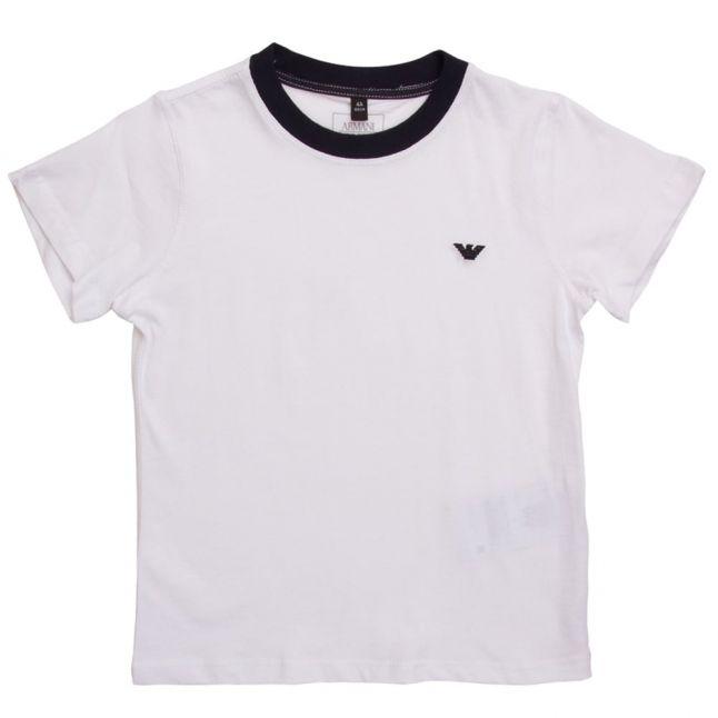 White Small Logo S/s Tee Shirt