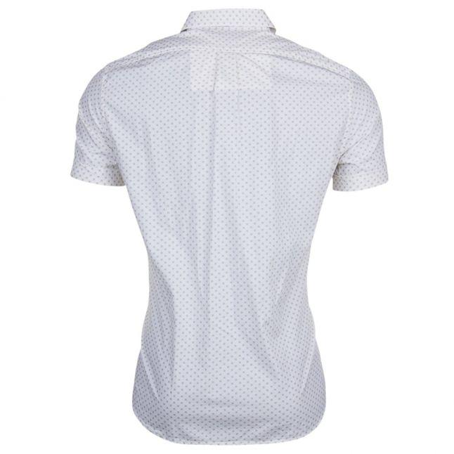 Mens Cream S-Dusk S/s Shirt