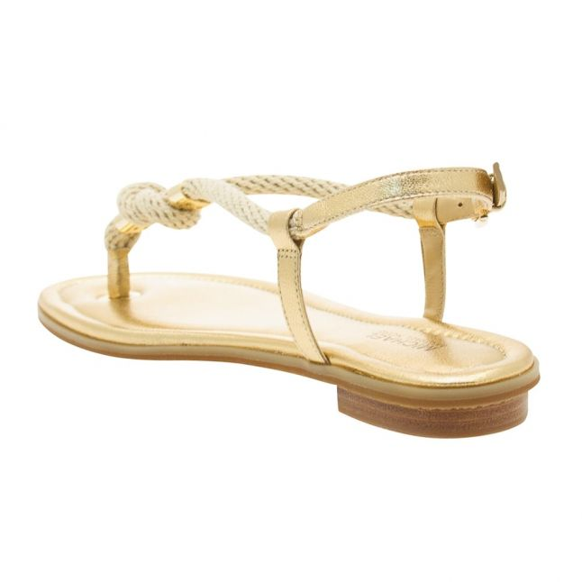 Womens Pale Gold Holly Rope Sandals