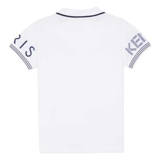 Junior Optic White Logo S/s Polo Shirt