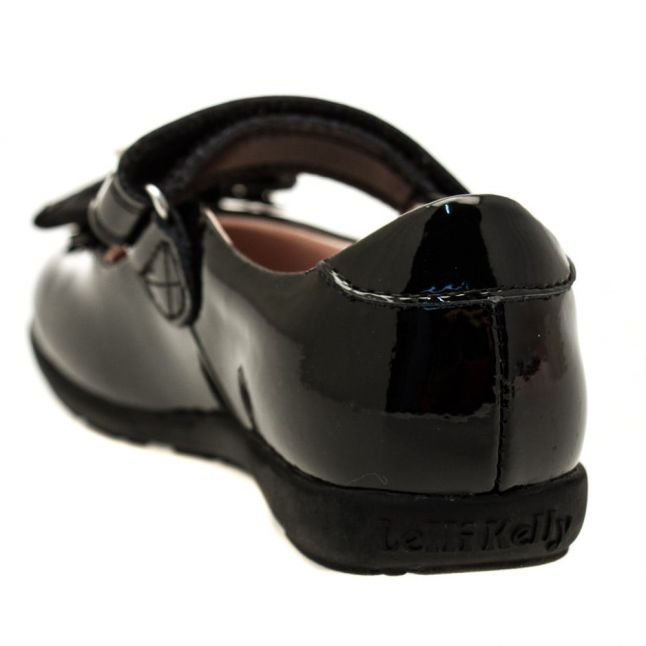 Girls Black Patent Priscilla G-Fit Shoes (27-33)
