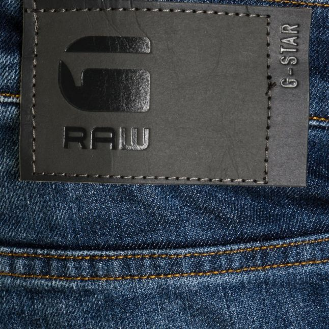 Mens Medium Aged Revend Straight Fit Jeans