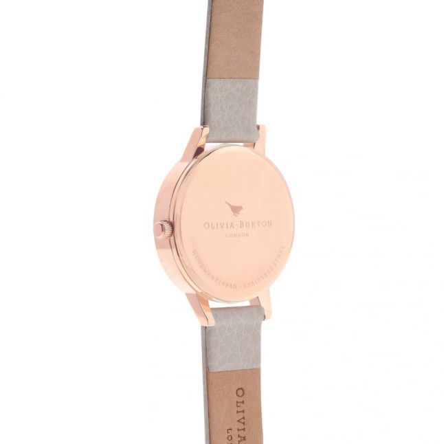 Mink & Rose Gold Midi Dial Watch
