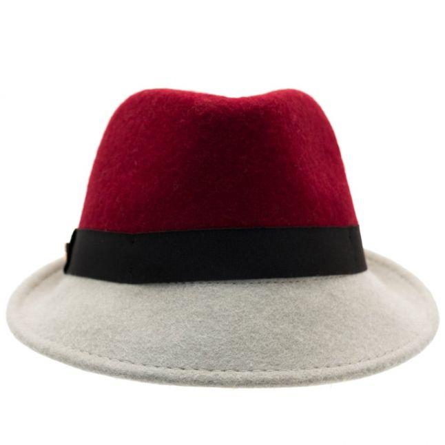 Womens Grape Tyli Wool Trilby Hat