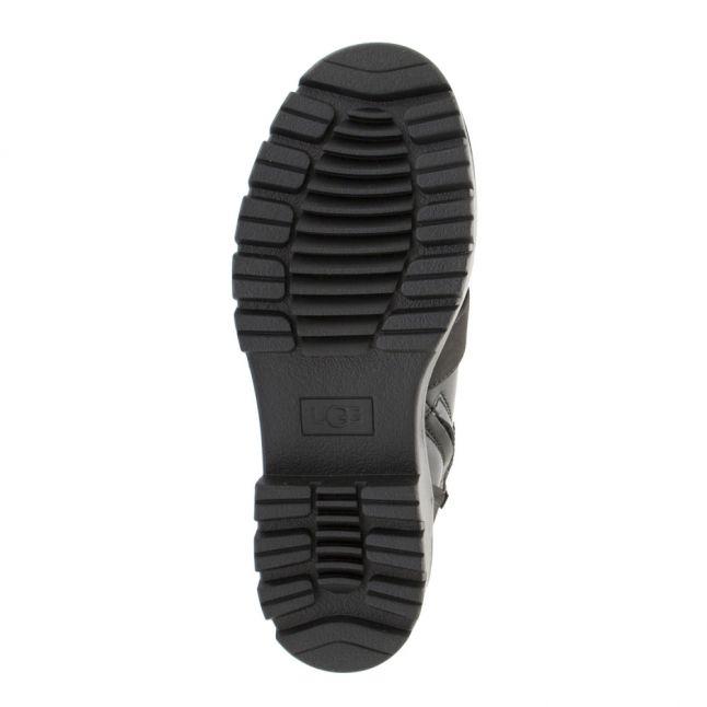 Womens Black Noe Buckle Boots