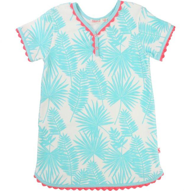 Girls Blue Beach Dress