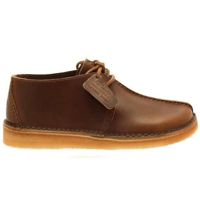 Mens Bronze Leather Desert Trek