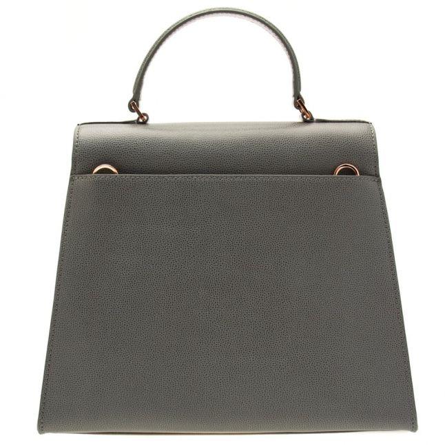 Womens Gunmetal Ellice Top Handle Bag