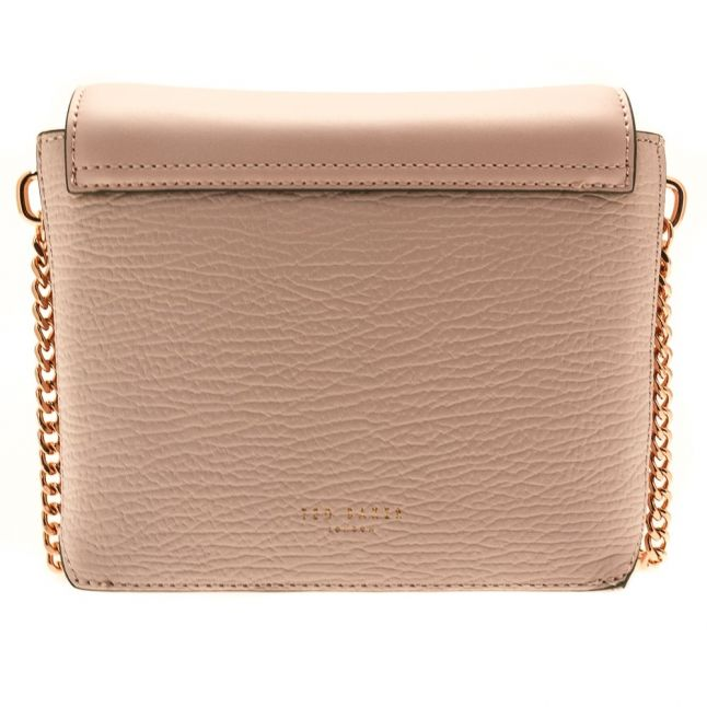 Womens Dusky Pink Berte Luggage Lock Small Bag