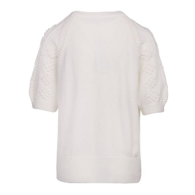 Womens Summer White Karla Knitted Top