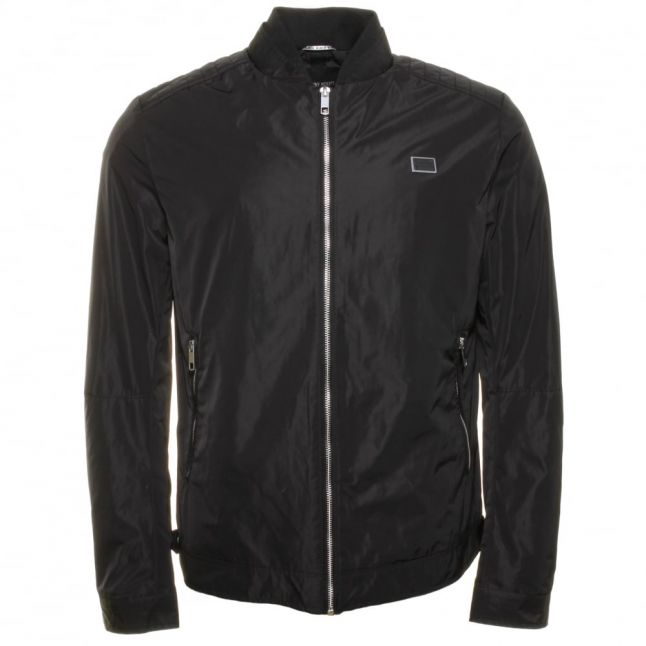 Mens Black Label Bomber Jacket