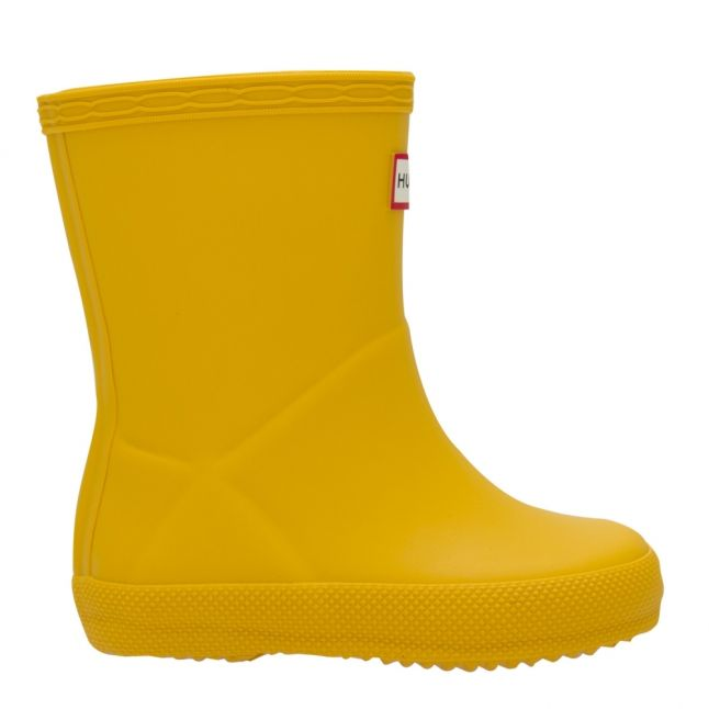 Kids Yellow First Classic Wellington Boots (4-8)