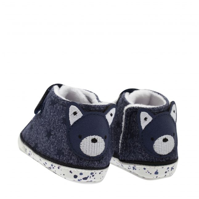 Mayoral Baby Blue Star Booties (15-19)
