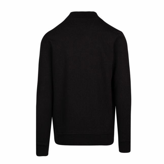 Casual Mens Black Zkybox Sweat Jacket