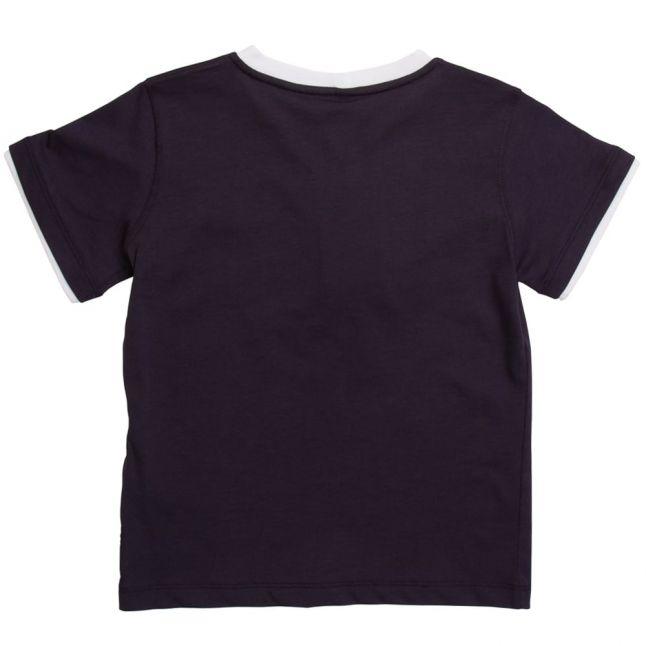 Boys Blue Eagle Logo S/s Tee Shirt