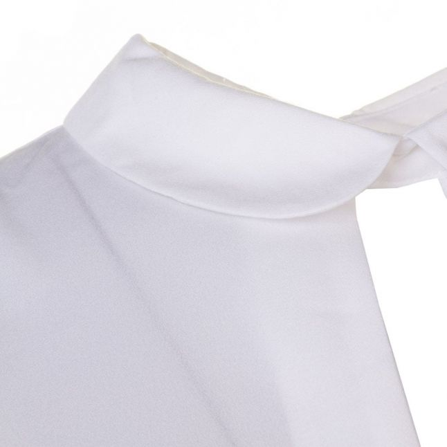 Womens Winter White Penny Plains Collared Top