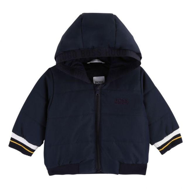 Baby Navy Rocket Hooded Jacket