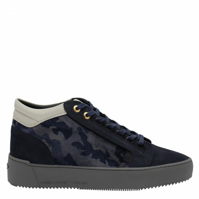 Mens Grey Camouflage Propulsion Mid Geo Trainers