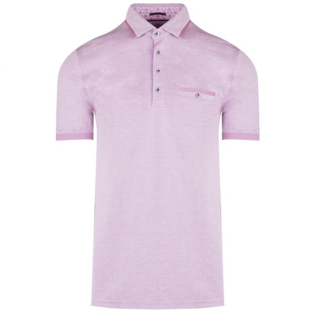 Mens Deep Pink Jakturc Soft Touch S/s Polo Shirt