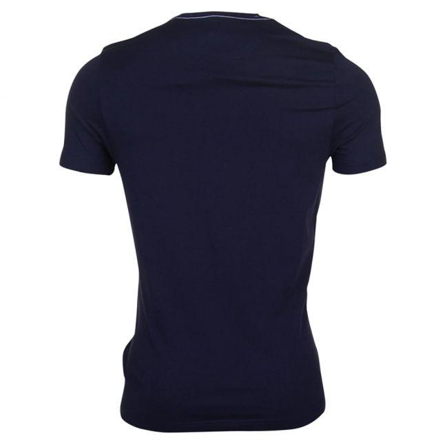 Mens Navy Radar Regular Fit S/s Tee Shirt