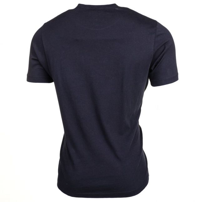 Mens Black Logo Pocket S/s Tee Shirt