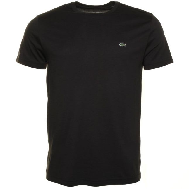 Mens Black Classic Crew S/s Tee Shirt