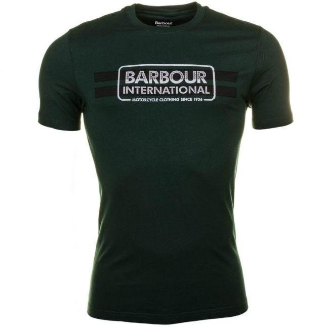 Mens Seaweed Tyre Track S/s Tee Shirt