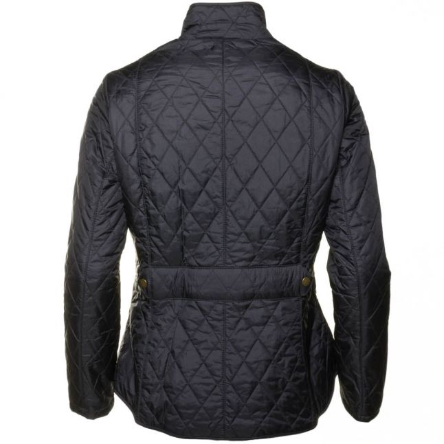 Lifestyle Womens Navy Flyweight Cavalry Quilted Jacket