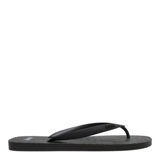 Mens Black Pacific_Thong Flip Flops