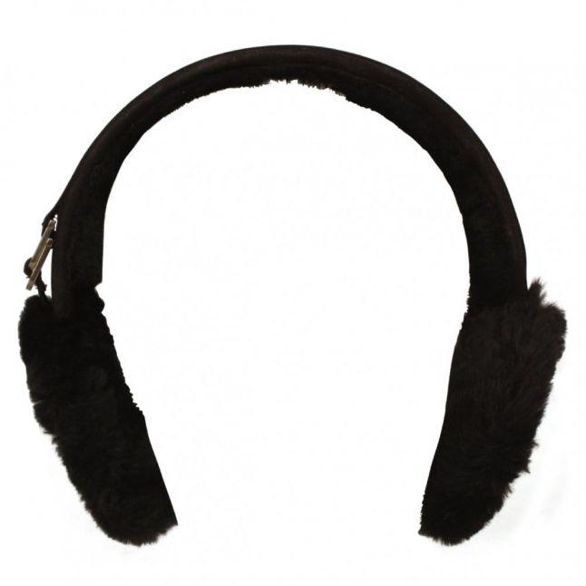 Australia Sheepskin Earmuff in Black