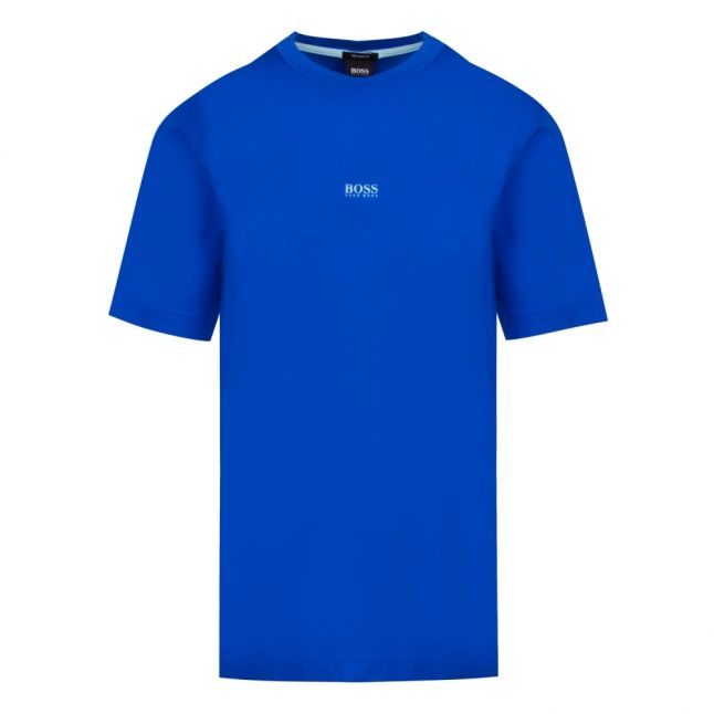 Casual Mens Bright Blue Tchup Centre Logo S/s T Shirt