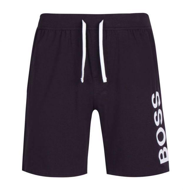 Mens Dark Blue Identity Soft Sweat Shorts