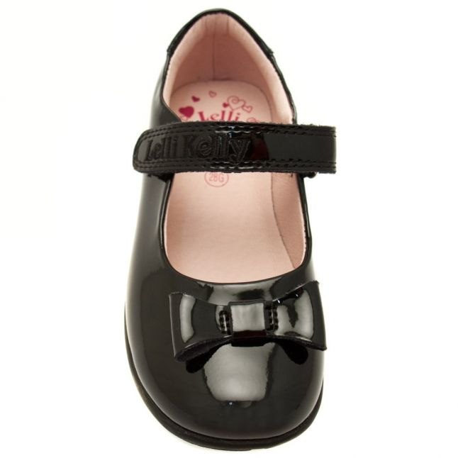 Girls Black Patent Perrie G-Fit Shoes (27-33)