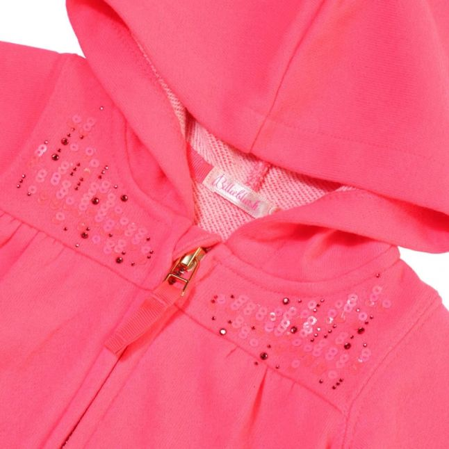 Baby Pink Sequin Tracksuit