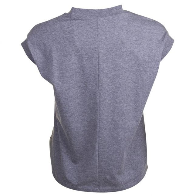 Womens Grey Love Always S/s T Shirt