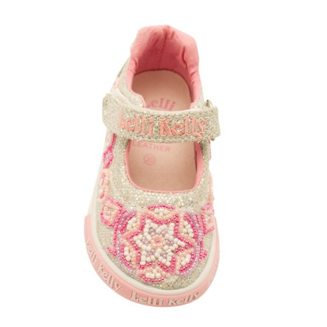 Baby Argento Glitter Shining Star Shoe (20-24)