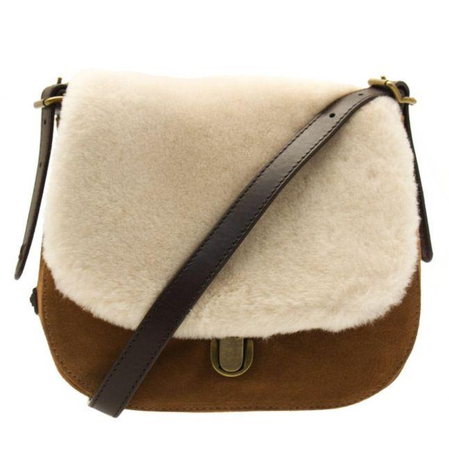 Womens Chestnut Heritage Cross body Bag