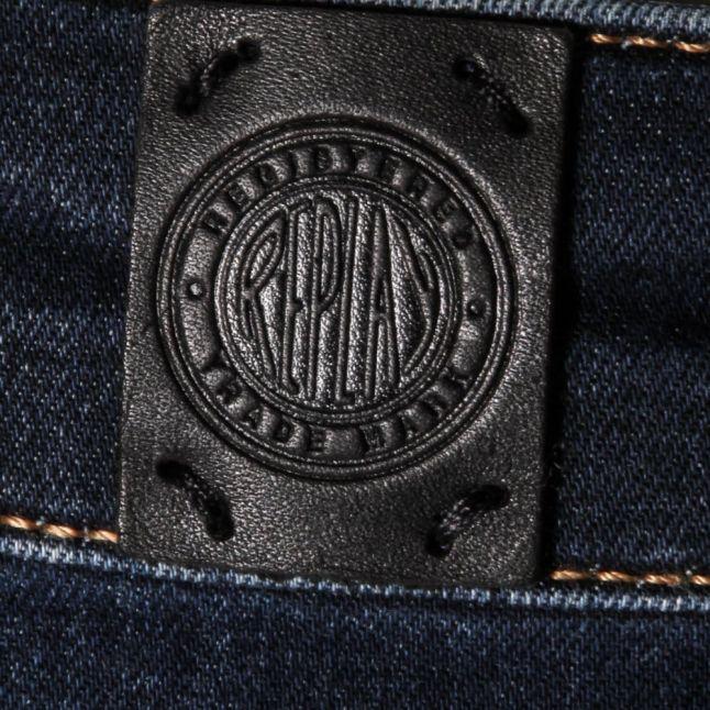 Womens Blue Wash Luz Regular Skinny Fit Jeans