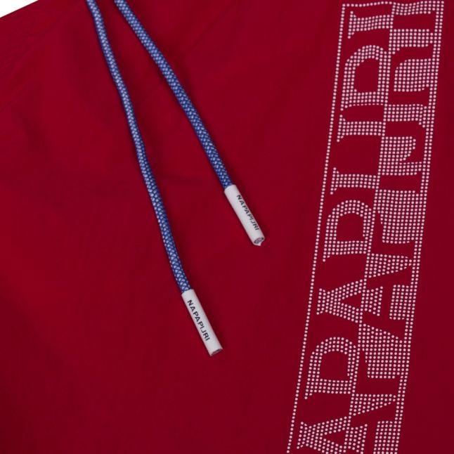 Mens True Red Varco Logo Swim Shorts