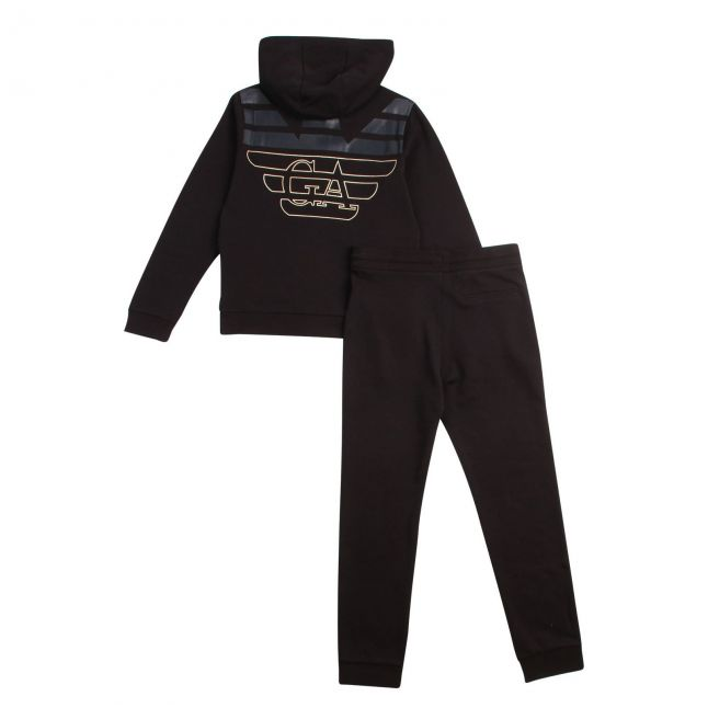 Boys Black Tracksuit