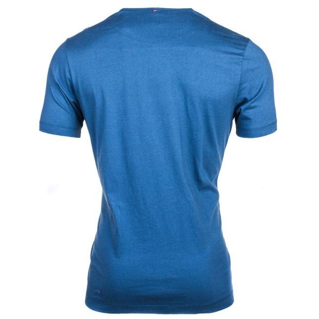 Mens Indian Teal Stretford Paisley Logo S/s Tee Shirt