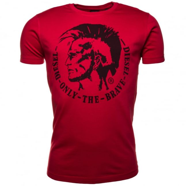 Mens Red T-Ulyesse S/s Tee Shirt